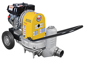 Wacker PDT3 Diaphragm Trash Pumps