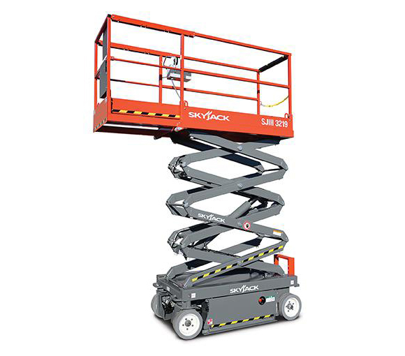 DC Electric Scissor Lift Model SJIII 3219