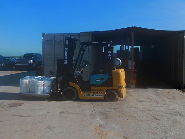 Rentalex 5K LB Forklift PR/CUSH