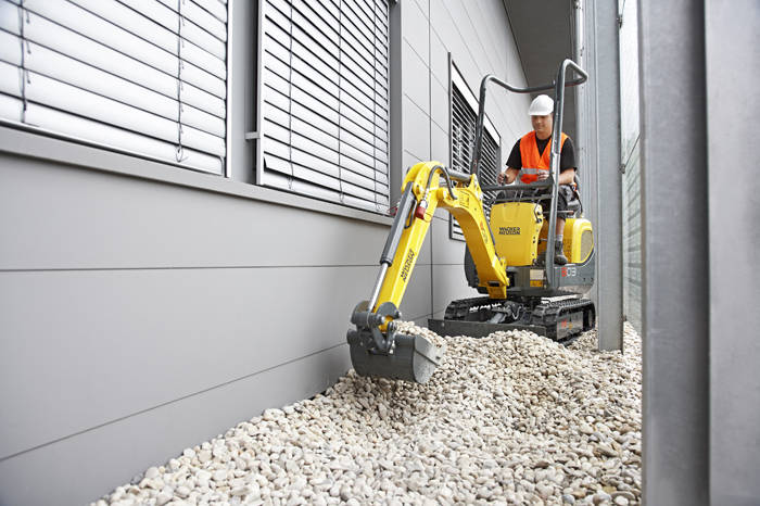 Wacker 803 Mini Excavator