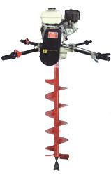 Ground Hog 2-Man 5HP Gas Auger