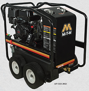 MI-T-M HSP-3504-3MGH Hot Water Portable Pressure Washer