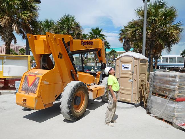 Forklift 6000LB JCB 506C